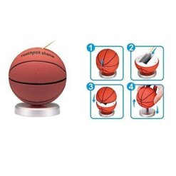 Distributeur cure-dents Basketball