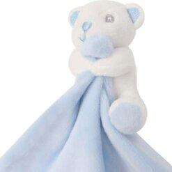 Doudou ours bleu - Doudou bébé garçon