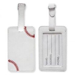Etiquette Bagage Baseball