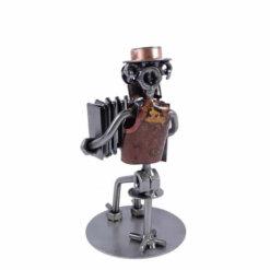 Figurine accordéoniste homme