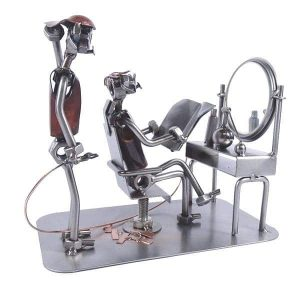 Figurine coiffeur