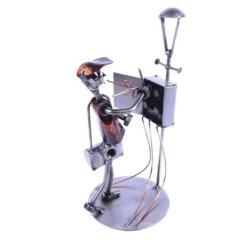 Figurine électricien - Cadeau électricien
