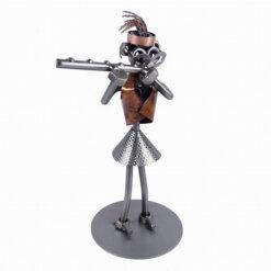Figurine flûtiste femme