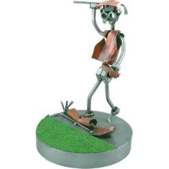 Figurine golfeur en colère