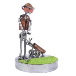 Figurine golfeur au putt - Cadeau Golf