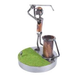 Figurine golfeur au swing