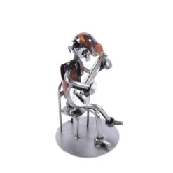 Figurine guitare homme assis
