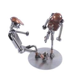 Figurine footballeurs au dribble