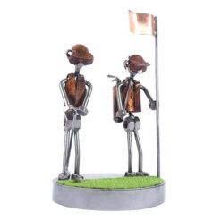 Figurine golfeur au putt