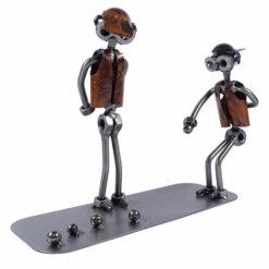 Figurine joueurs de pétanque