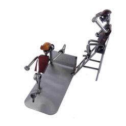Figurine joueur de tennis