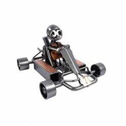 figurine karting metal cadeau