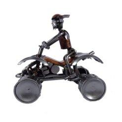 Figurine métal quad