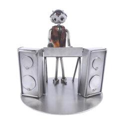 Figurine musicien claviériste synthétiseur