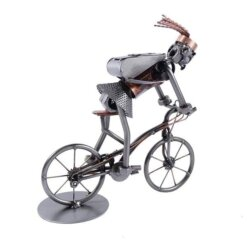 Figurine VTT femme - cadeau humoristique pour cycliste