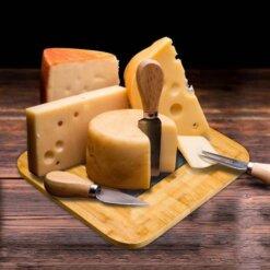 Plateau à fromage avec ardoise