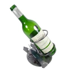 Porte bouteille métal vin Cancer