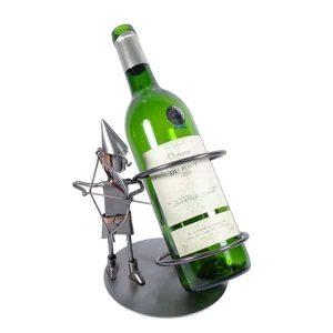 Porte bouteille métal vin Sagittaire