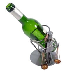 Porte bouteille métal vin Balance