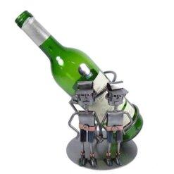 Porte bouteille métal vin Gémeaux
