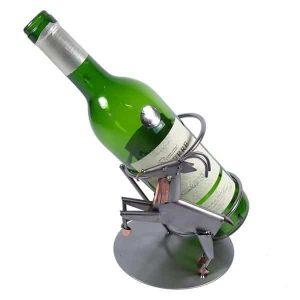 Porte bouteille métal vin Capricorne