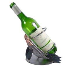 Porte bouteille métal vin Poissons
