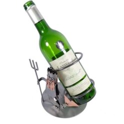 Porte bouteille métal vin Verseau