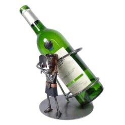 Porte bouteille métal vin Vierge