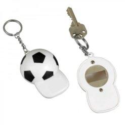Porte-clés décapsuleur football