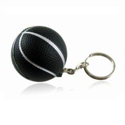 Porte-clés Basketball Noir