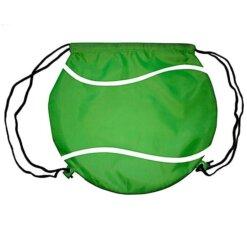 Sac cordon balle de Tennis vert