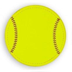 Sous verres Softball - 9 cm