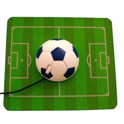 Tapis de souris football