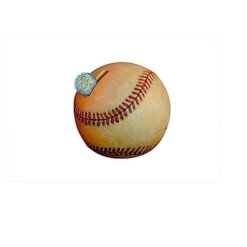 Tirelire enfant baseball