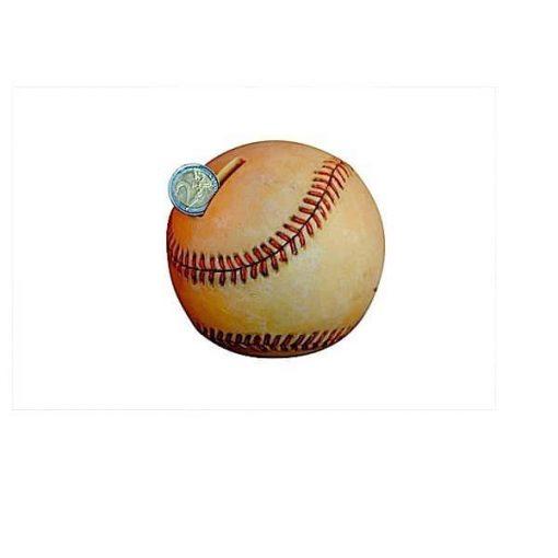 Tirelire enfant baseball