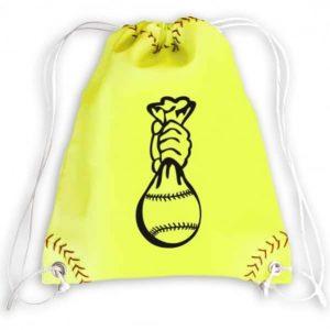 Sac à ficelle Softball