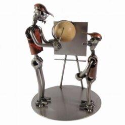 Figurine maitre d'école en métal