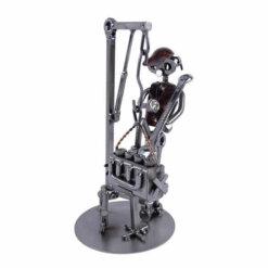 Figurine mécanicien avec palan