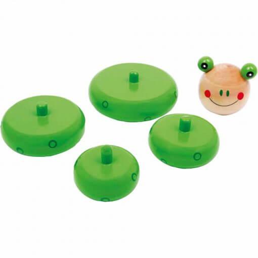 Jouet grenouille à emboiter